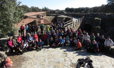Cerca de 70 personas recorren los Riberos del Tamuja en la segunda ruta senderista de Coria