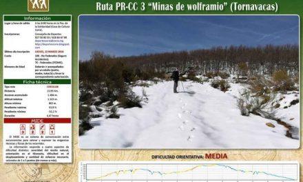 Las minas de wolframio de Tornavacas serán el destino de la ruta senderista del consistorio de Coria