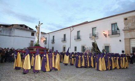 Coria celebrará en la tarde del Jueves Santo la procesión de la Cofradía de la Santa y Vera Cruz