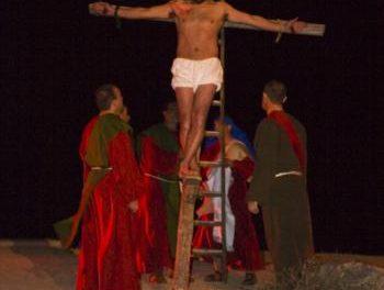 Torrecilla de los Ángeles trasladó a Jerusalén al numeroso público asistente a  La Pasión