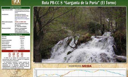 El Jerte será el destino de la ruta senderista del departamento de Deportes de Coria para este domingo