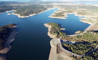Los embalses de la cuenca del Tajo suben un 13,9% tras meses de sequía combinados con intensas lluvias