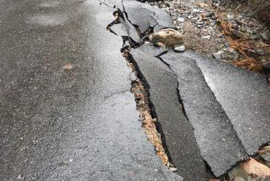 Las obras del camino de Acebo afectado por las lluvias comenzarán en un plazo máximo de dos semanas