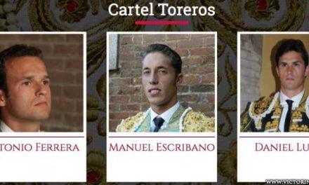 Los Victorino Martín estarán presentes un año más en la Feria de Abril de Sevilla con una única corrida