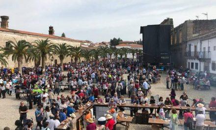 La Plaza de la Corredera de Alcántara será el escenario de la XXII Matanza Popular este mismo sábado