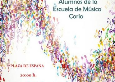 Las audiciones de la Escuela de Música de Coria se celebrarán en la Plaza de España