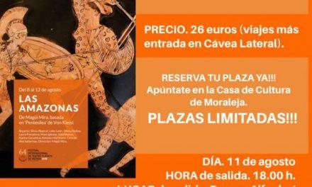 """Moraleja organiza un viaje al Festival de Teatro Clásico de Mérida para ver la obra """"Las Amazonas"""""""