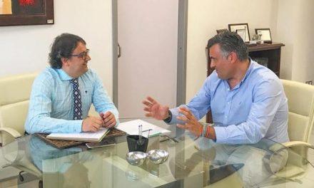 """Ballestero traslada a la Junta la """"urgente"""" necesidad de finalizar las obras del centro de día"""