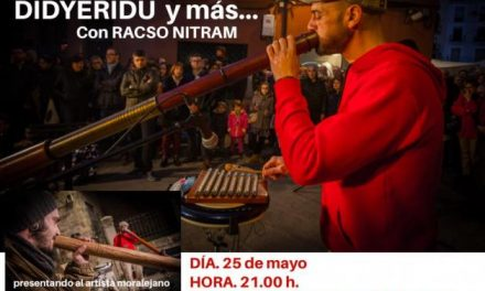 """Los vecinos de Moraleja podrán disfrutar de la música ancestral de Australia con el concierto """"Didyeridú"""""""