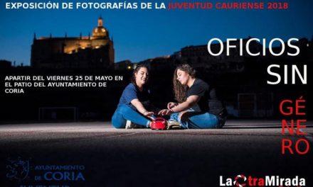 """La exposición """"Oficios sin género"""" abre sus puertas en Coria para fomentar la igualdad de género"""
