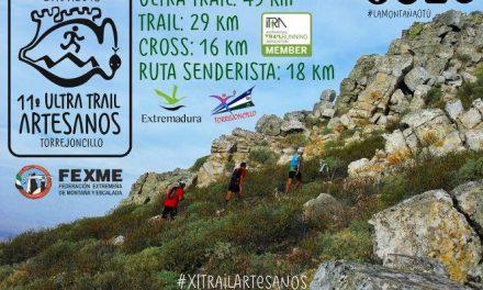 """El Ultra Trail """"Artesanos"""" de Torrejoncillo cuenta con un centenar de inscritos a cuatro meses de su celebración"""