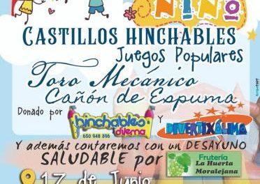 Los más pequeños de Moraleja podrán disfrutar este domingo de una jornada lúdica en el Parque Fluvial