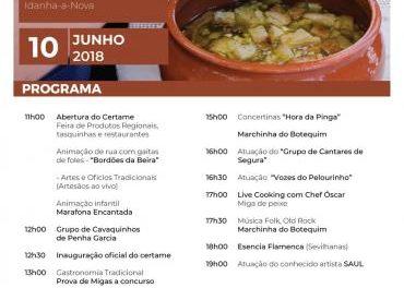 La localidad lusa de Segura acogerá este domingo la III Fiesta de las Migas con multitud de actividades