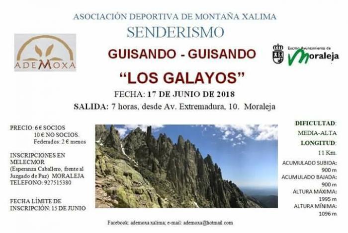 ADEMOXA celebrará este domingo una de sus rutas más exigentes por la Sierra de Gredos
