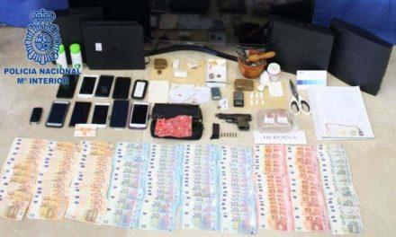 Desmantelan en Plasencia un importante punto de venta de droga y detiene a sus presuntos dueños