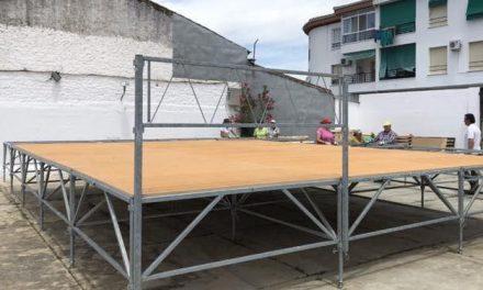 Moraleja dota con un nuevo escenario homologado las Jornadas Culturales de San Buenaventura