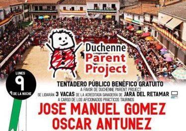 Moraleja acogerá el próximo lunes un tentadero público solidario a favor de Duchenne Parent Project