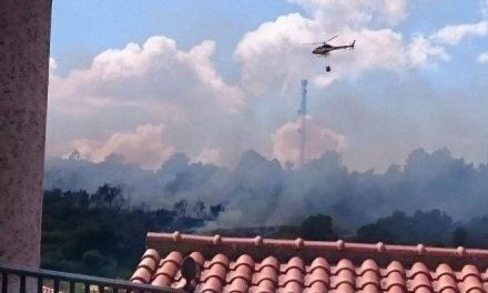 El término municipal de Cilleros registra dos incendios forestales en la tarde del domingo