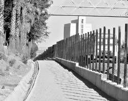 El parque de la vía del tren de Villanueva de la Serena estará listo a mediados del mes de julio