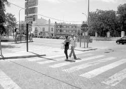 El Ayuntamiento de Zafra mejora con varias obras la accesibilidad de las zonas peatonales y plazas
