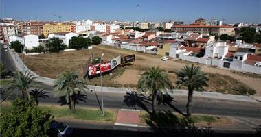 La Diputación y el ayuntamiento de Badajoz firman la cesión de terrenos en el Llano de Pardaleras