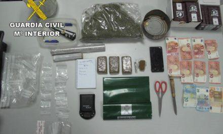Detienen a tres vecinos de Moraleja por delitos de robo, receptación y tráfico de drogas