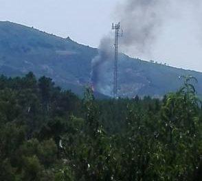 El Plan Infoex declara el nivel 1 de peligrosidad en el incendio forestal registrado en Pinofranqueado