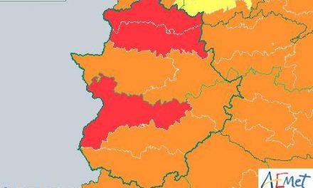 Alerta máxima este viernes en el norte de Cáceres y los valles del Tajo y el Alagón por temperaturas de más de 42º