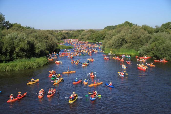 Coria tiene todo preparado para celebrar este domingo el XI Descenso del Río Alagón con 400 participantes
