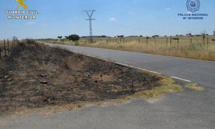 Ingresa en prisión el supuesto autor de los incendios declarados en Cáceres, Monroy y Talaván