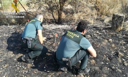 La Guardia Civil detiene al supuesto pirómano que provocó dos incendios en Torrejoncillo