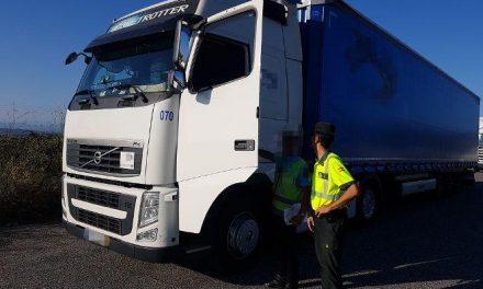 Sorprenden en la A-66 a un camionero brasileño cuando conducía superando nueve veces la tasa de alcohol