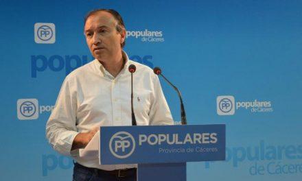 El PP de Cáceres pide al PSOE que cumpla con la inversión prevista para las obras de la Catedral de Coria
