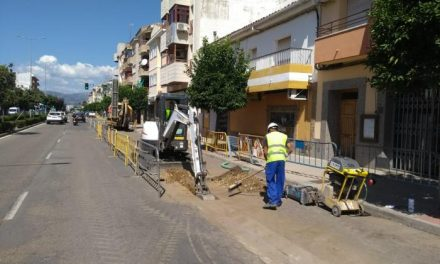 Comienzan las obras de canalización de Gas Natural en las principales avenidas de Moraleja