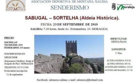 ADEMOXA celebrará este domingo una ruta por los municipios lusos de Sabugal y Sortelha
