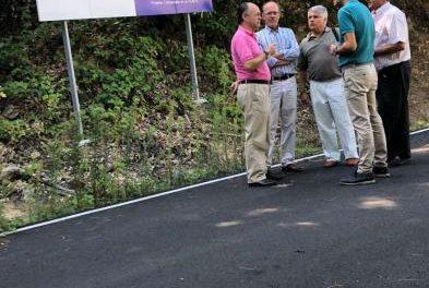Desarrollo Rural invierte 471.000 euros en mejoras de caminos en el Valle del Jerte