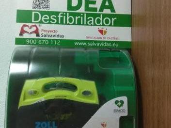 Moraleja cuenta con cuatro espacios cardioprotegidos con la instalación de un nuevo desfibrilador