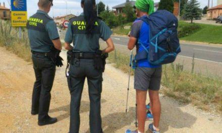 Rescantan a un peregrino perdido cuando realizaba el Camino de Santiago en un tramo próximo a Cañaveral