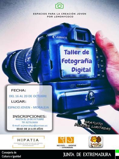 Los jóvenes de Moraleja podrán ampliar sus conocimientos de fotografía con un taller gratuito