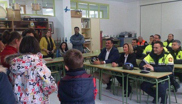 La Policía Local de Coria pone en marcha un año más el Programa de Educación Vial en los colegios