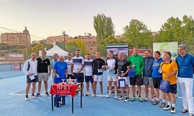 El Club de Tenis Cauria se proclama subcampeón de Extremadura en la categoría de veteranos