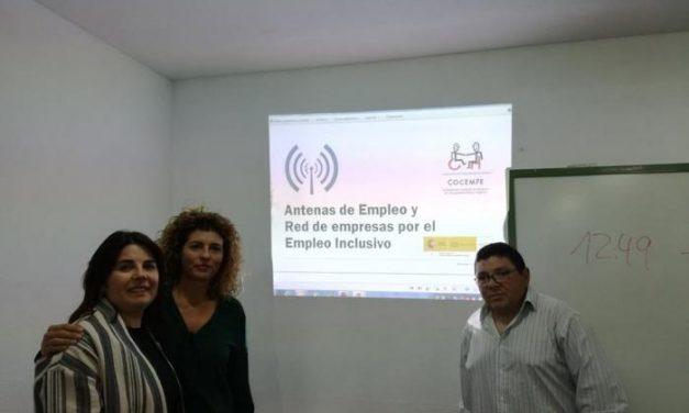 COCEMFE Cáceres presenta a las empresas de Moraleja sus proyectos de empleo para personas discapacitadas