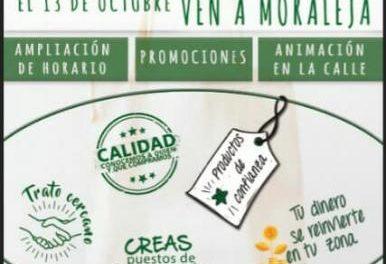 El comercio de Moraleja ofrecerá este sábado promociones y animación para fomentar las compras