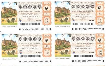 El primer premio del Sorteo Especial de la Hispanidad de la Lotería Nacional recae en Moraleja