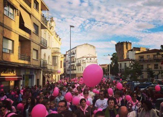 Coria celebrará este sábado la V Marcha Rosa con motivo del Día Internacional del Cáncer de Mama