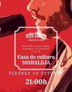 """El cantautor Niño Índigo ofrecerá a sus vecinos de Moraleja el concierto """"Introspectiva Live Session"""""""