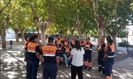 Protección Civil de Moraleja se forma  en procesos de apoyo psicológico en emergencias y catástrofes