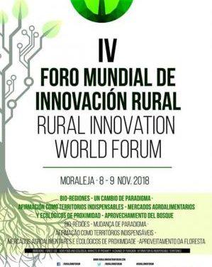 Moraleja acogerá en noviembre el IV Foro de Innovación Rural, una cita de cooperación transfronteriza