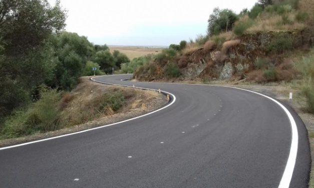 La Diputación de Cáceres acomete obras de mejora en carreteras de Coria y Montehermoso