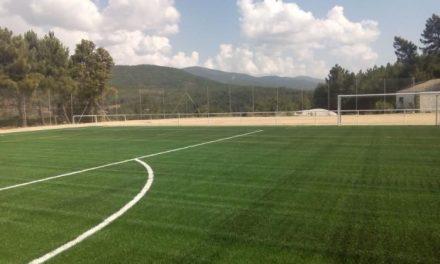 La Diputación de Cáceres invierte cerca de 340.000 euros en la mejora del campo de fútbol de Pinofranqueado